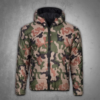 PGwear Reversible Winter Jacket Storm Camo