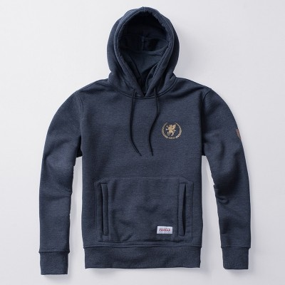 Mask Hoodie Warrior Grey