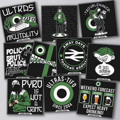 Ultras-Tifo Stickers Set IV