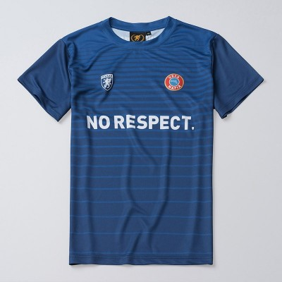 Fußballtrikot NO RESPECT Blue