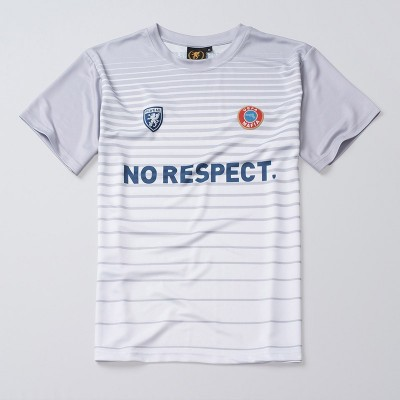Fußballtrikot NO RESPECT White