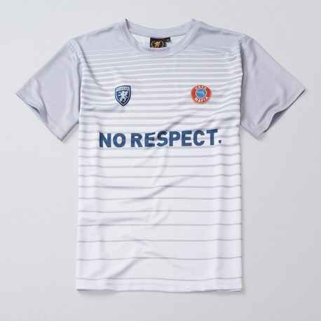 Football Jersey NO RESPECT White