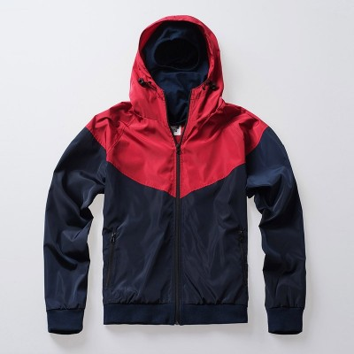 Full Face Jacke Invader Navy-Red