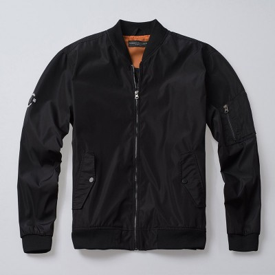 Bomberjacke Force Black