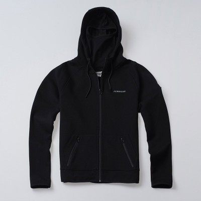 Full Face Kapuzenpulli Hool Black