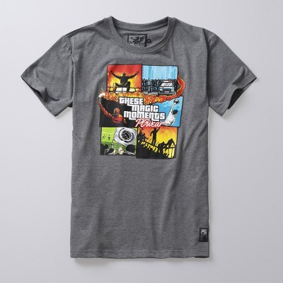T-shirt Magic Moments Grey