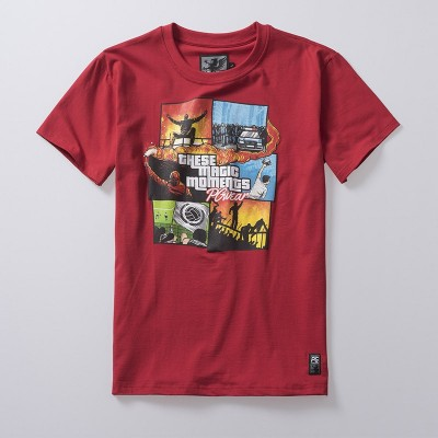 T-shirt Magic Moments Red