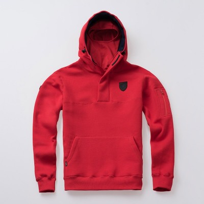 Full Face Kapuzenpullover Frontline18 Red