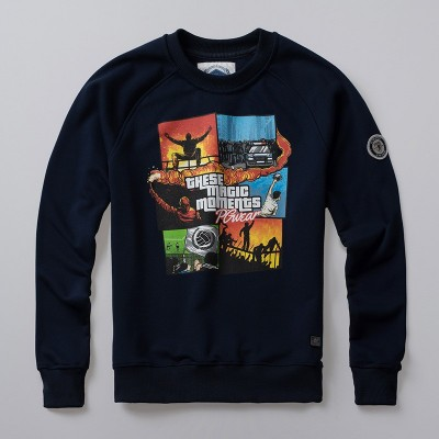 Sweatshirt These Magic Moments Navy