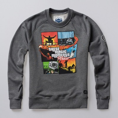 Sweatshirt These Magic Moments Grey