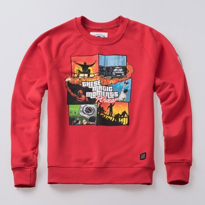 Sweatshirt These Magic Moments Red