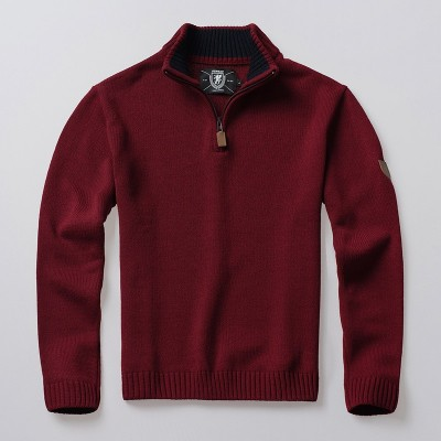 Pullover Icon Burgundy