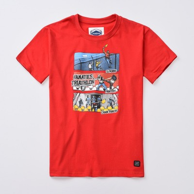 T-shirt Triathlon Red