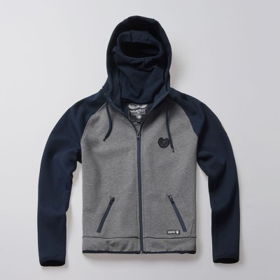 Full Face Kapuzenpullover Hool Navy/Grey
