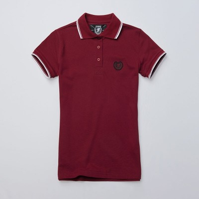 Women`s Polo Laurel Maroon