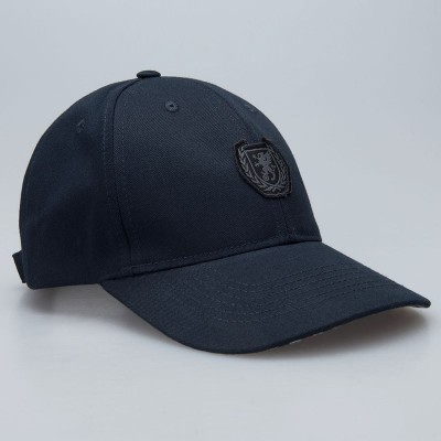 Baseball Cap Wreath Checked/Blue