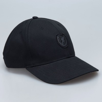 Baseball Cap Wreath Checked/Black