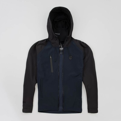 "Full Face Softshell jacket ""Aggressive"" Navy/Black"
