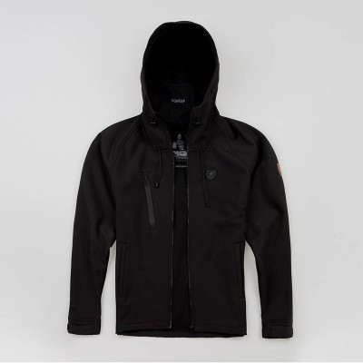 "Full Face Softshelljacke ""Aggressive"" Black"