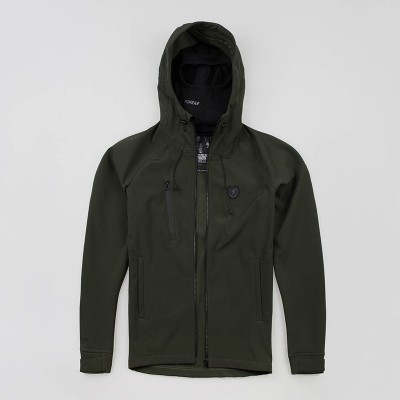"Full Face Softshell jacket ""Aggressive"" Olive"