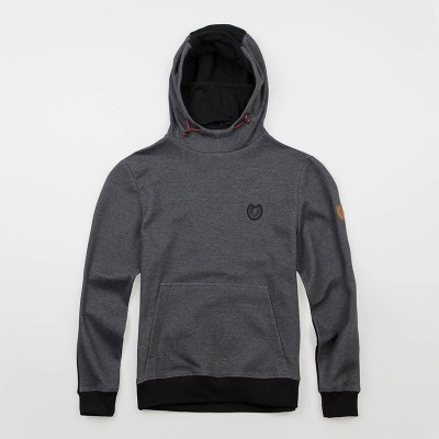 "Mask Hoodie ""Warrior"" Grey/Black"