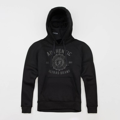 "Full Face Hoodie ""Authenthic Brand"" Black"