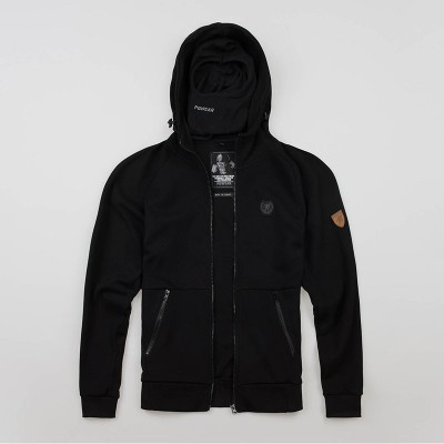 "Full Face Kapuzenpullover ""Chaos"" Black"