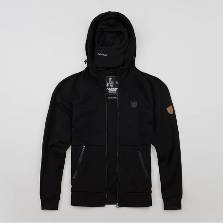 """Full Face Hoodie """"Chaos"""" Black"""