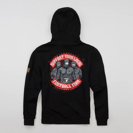 """Mask Hoodie """"Support Your Locals"""""""