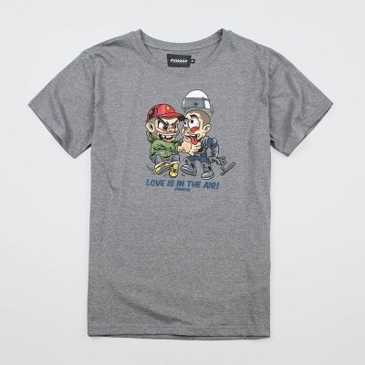 "T-shirt ""Love"" Grey"
