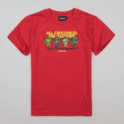 "T-shirt ""Crocodiles"" Red"
