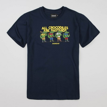 "T-shirt ""Crocodiles"" Navy"