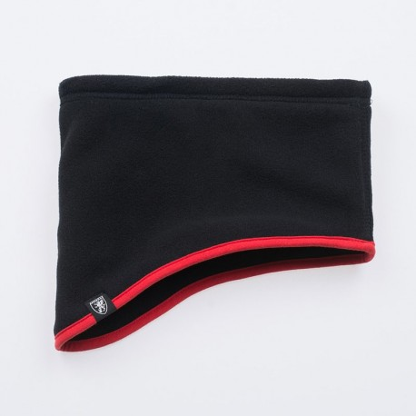 "Neckwarmer ""No Rules"" Black/Red"