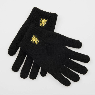 "Gloves ""Snowstorm"" Black"
