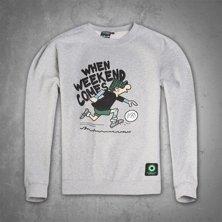 Ultras-Tifo Sweatshirt When Weekend Comes