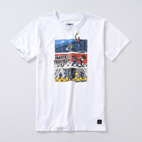 T-shirt Triathlon White