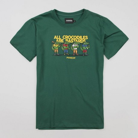 "T-shirt ""Crocodiles"" Green"