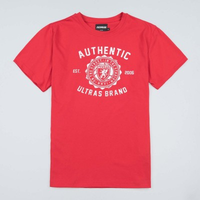 "T-shirt ""Authentic Brand"" Red"