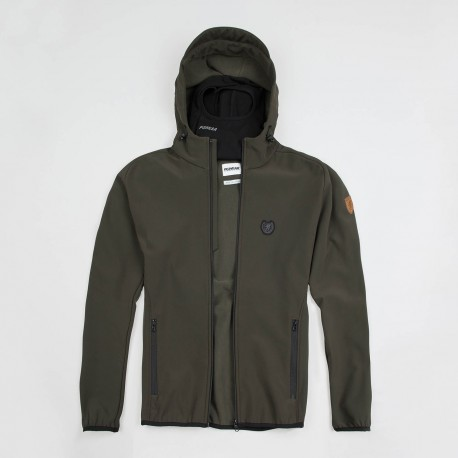 "Full Face Softshell Jacket ""Offensive"" Olive"