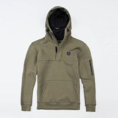 "Full Face Hoodie ""Front Line 20"" Olive"