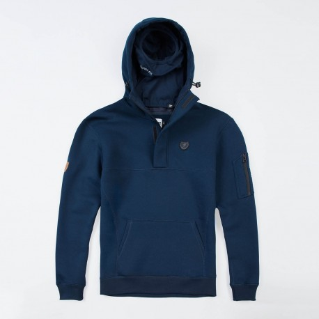 """Full Face Hoodie """"Front Line 20"""" Navy"""