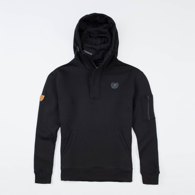"Full Face Hoodie ""Front Line 20"" Black"