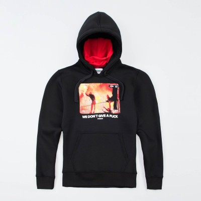 "Mask Hoodie ""We don`t give..."""
