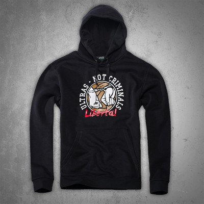 Ultras-Tifo Ultras Not Criminals Hoodie
