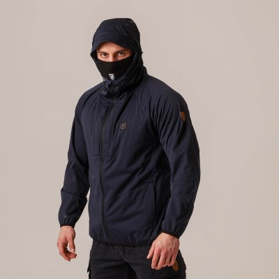 "Mask Softshell Jacket ""Sector"" Navy"