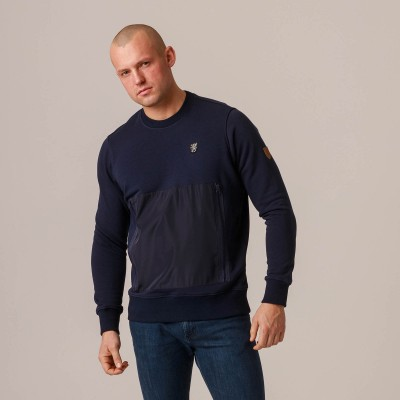 "Sweatshirt ""Pocket"" Navy"