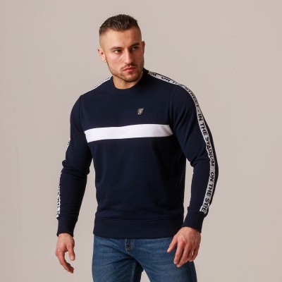 "Sweatshirt ""Band"" Navy"