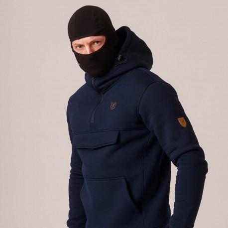 """Full Face Hoodie """"Armory"""" Navy"""