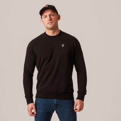 "Sweatshirt ""Plain"" Black"
