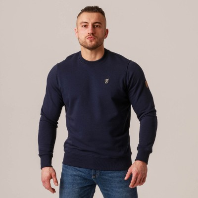 "Sweatshirt ""Plain"" Navy"